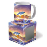 Tropical Dolphin Journey Ceramic Mug 11oz 03279000