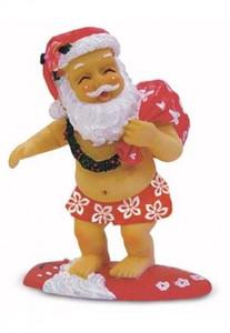 Christmas Ornament Surfing Santa - 13089000