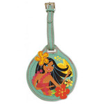 Hula Honeys Embroidered Leatherette Luggage Tag 13580000