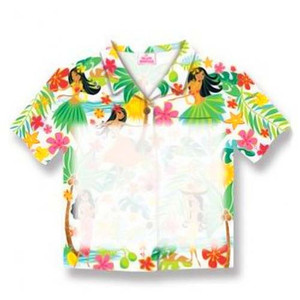 Island Hula Honeys Shirt Sticky Notes 26221000