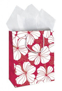 Hibiscus Chic Gift Bag Large  - 30126005