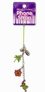 Hawaiian Charms Cell Phone Strap with Charms - 42147000