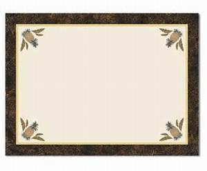 Pineapple Harvest Linen Cloth Placemat - Set of 2 - 99023191