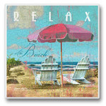 Relax at the Beach - Single Absorbent Coaster - 02-717