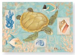 Boxed Note Cards Oceanic Scene 12 Per Box 08-350