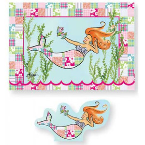 Boxed Note Cards Pop Up Mermaid 12 Per Box 11-101