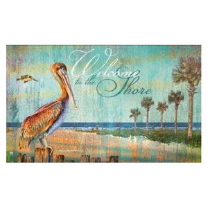 Pelican Welcome to the Shore MatMates 12316D