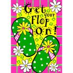 Get Your Flop On Garden Flag 1946FM