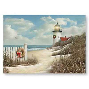 Christmas Cards Peaceful Shore II 16 Per Box 25-606