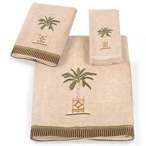 """Palm Tree """"Banana Palm"""" 3 Piece Towel Set  - 3021SET"""