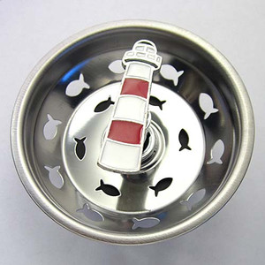 Lighthouse Kitchen Sink Strainer - Stainless Steel 32SS