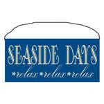 "Beach Wood Sign ""Seaside Days"" 35085"