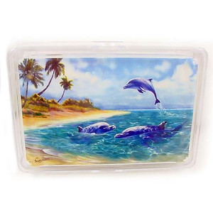 """Dolphin Playing Cards """"Dolphin Play"""" - 36-203"""