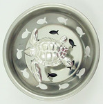 Sea Turtle Kitchen Sink Strainer - Stainless Steel - 39SS