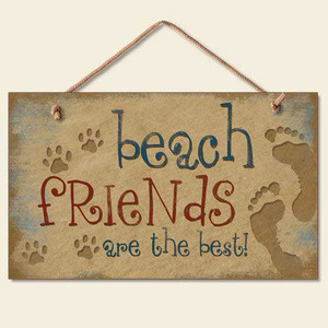 Beach Friends are the Best Wood Sign 41-813
