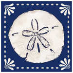 "Sand Dollar Paper Cocktail Napkins Pk of 20 ""Coastal Life"" - 4NC3951"
