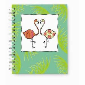 Pink Flamingo Duo Journal Notebook  - 52-067