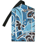 Luggage Tag Dolphins Fabric - 2037