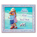 Beach Walking Kids Magnet 828-42