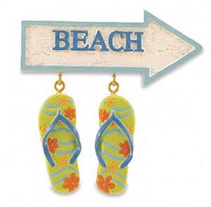 Flip Flops Beach Magnet - 830-15