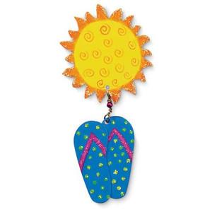 Flip Flops Sunshine Magnet 831-37