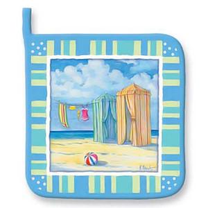 Beach Scene Pot Holder 847-12