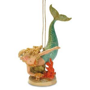Resin Ornament Mermaid Hideaway 871-48