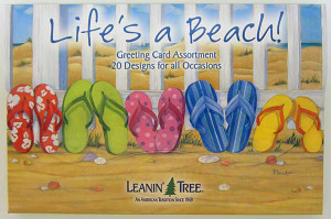 Lifes A Beach Greeting Cards 20 Assorted AST90753