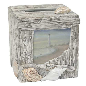 At The Beach Tissue Box Cover ATB58MULT