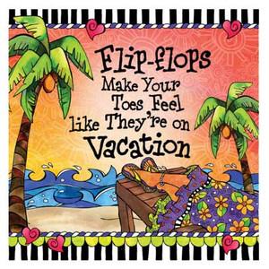 Flip Flops Vacation Paper Cocktail Napkins - CST02200