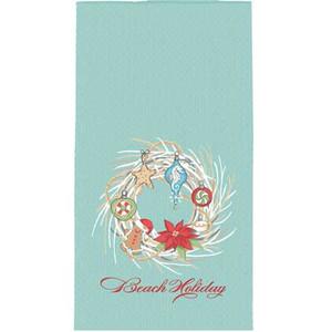 Holiday Wreath Hand Towel H0530
