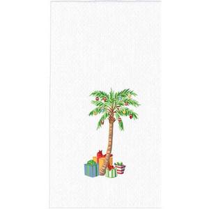 Palm Tree Christmas Hand Towel H0535