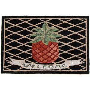 Pineapple Welcome Mat - Floor Rug - JB-VW002