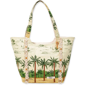 Palm Trees on the Beach Gap Tote PB31