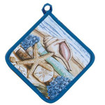 "Sea Shell ""Stories of the Sea"" Pot Holder V0072"