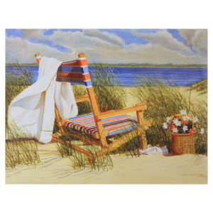Beach Chair Note Cards Pack of 8 BTN35885