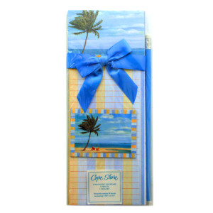 """Beach Palm Tree Magnetic List Pad and Magnet Set """"Inlet Beach Palm"""" - 91-012"""