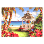 Gazebo Beach Christmas Cards Box of 16 27-079