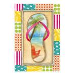 Flip Flops Beach Garden Flag 142422