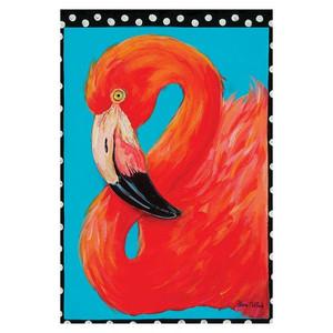 Flamingo Beach GARDEN Flag - 1110066