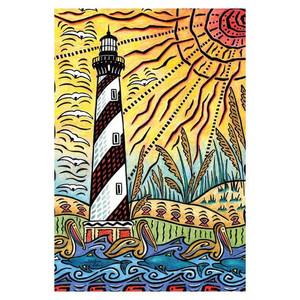 Lighthouse Beach GARDEN Flag - 1110034