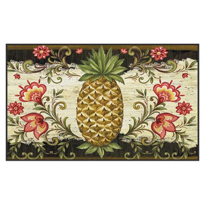 "Tropical Pineapple Welcome Floor Mat - 18"" x 30"" - 800044"