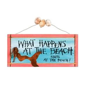 Mermaid Happens at Beach Sign 33370