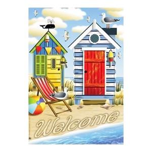 Beach Cottage Garden Flag - JFL142