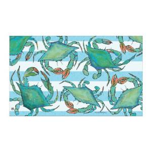 """Blue Crabs Floor Mat - 18"""" x 30"""" - MatMates - 11200D"""