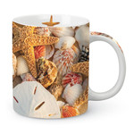 Tropical Sea Shells Scene Coffee Mug 714-90