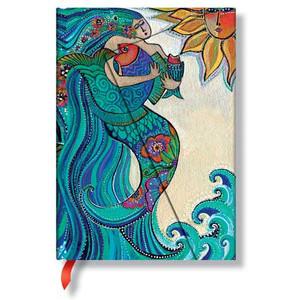Artistic Mermaid Ocean Song 5x7 Journal 2236-7