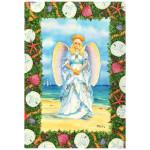 Shell Angel Christmas Cards 10 Box C73699