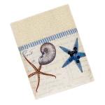 Sea Shells Antigua Ivory Wash Cloth - 35713