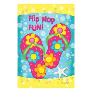 Flip Flop Fun GARDEN Flag - 1110052